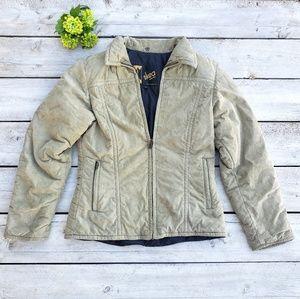 Skea Suede Leather Size 6 Jacket